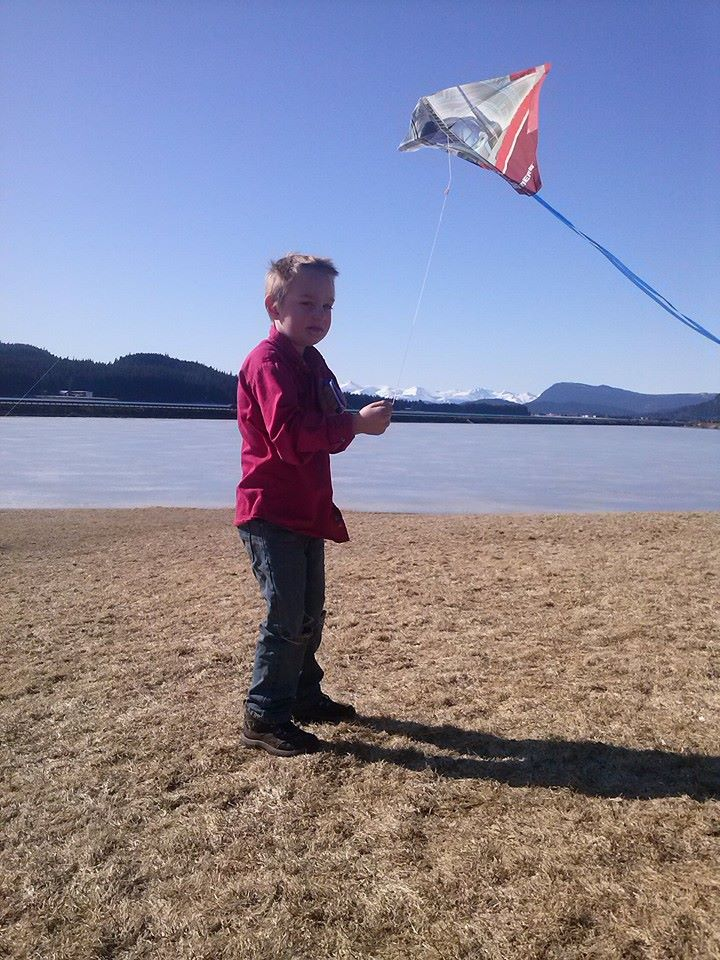 flying kites in March