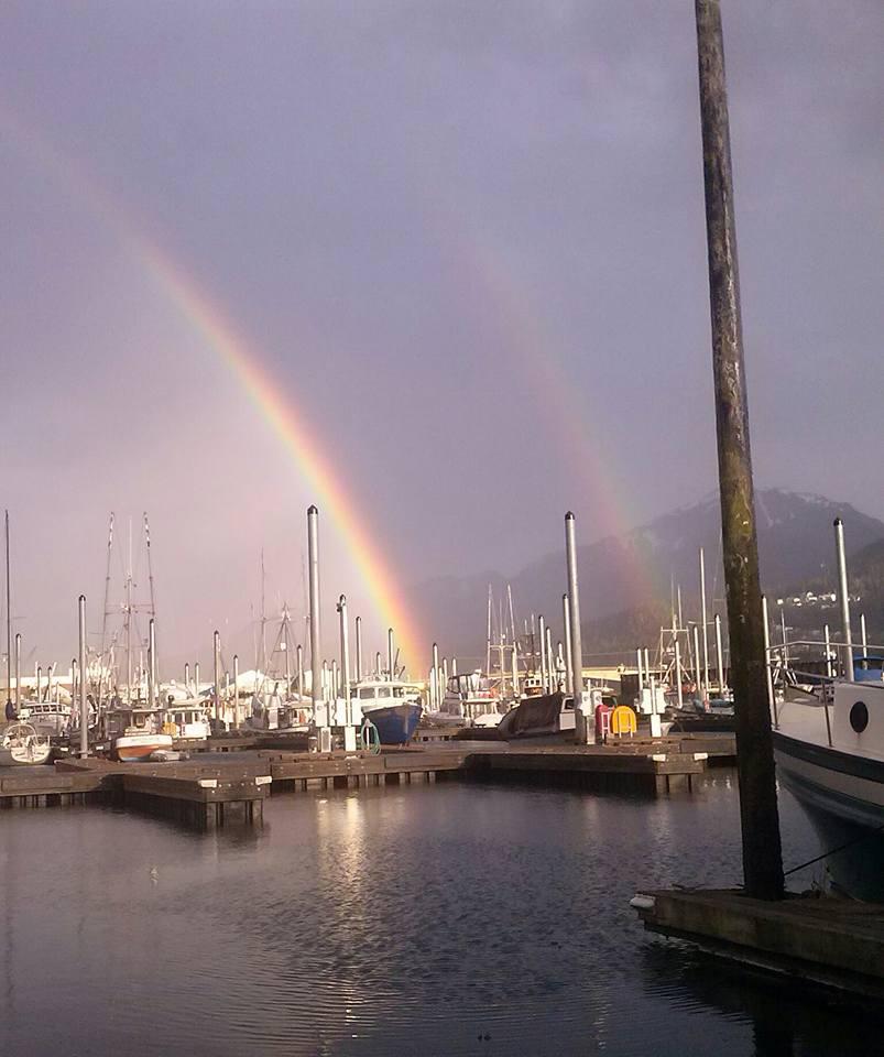 double rainbow harbor